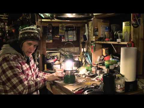 How to light a coleman white gas lantern - lantern lab episode 1