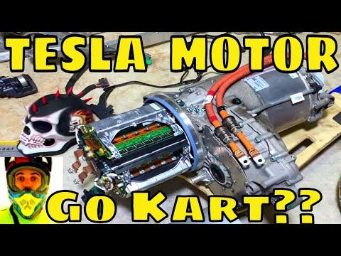Brunopoweeer is back - tesla motor, surron motor, asi bac8000, electric go kart?