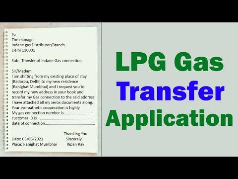 Gas transfer application