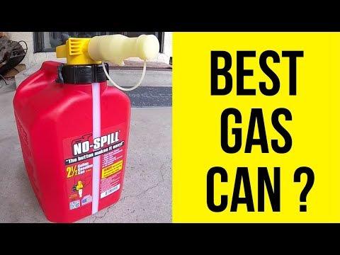 No-spill gas can. best gas can? test & review -jonny diy