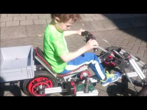 Wowww, a diy electric pedal go kart - infento community creation