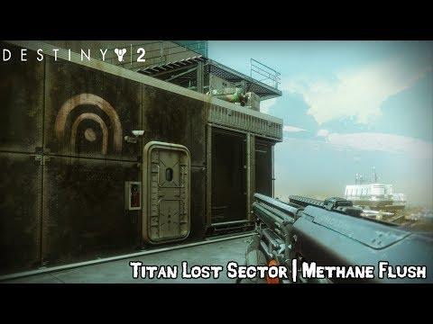 Destiny 2 - lost sector: methane flush location [titan]