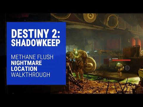Destiny 2: shadowkeep - methane flush (titan lost sector) nightmare location walkthrough