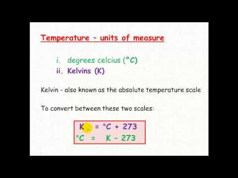 Gases 2 - units of measurement