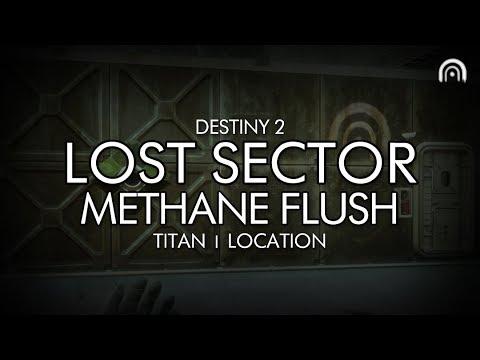 Destiny 2 - lost sector: methane flush location (titan)