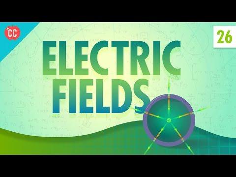Electric fields: crash course physics #26