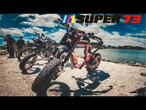 Super73 rx dual battery mod range test farthest group ride yet!!! ⚡️#ebike