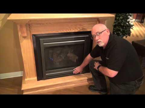 Heatilator® gas fireplace operation video