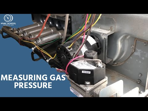 Measuring & adjusting furnace gas pressure x2
