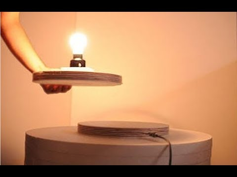 Wireless power transfer light simple diy   creative gadgets