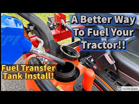 Fuel transfer tank install (how-to)- installing a fuel transfer tank pump